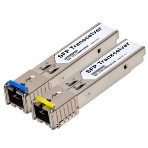 SFP BiDi (WDM) Transceiver SC - 1 pair