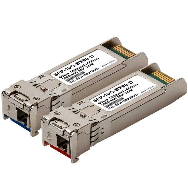 SFP+ BiDi (WDM) 90km - 1 pair