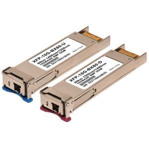XFP 10G BiDi (WDM) 80km - 1 pair