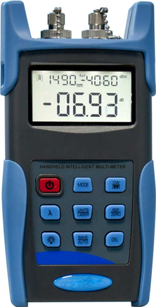Optical Multi Meter (Light Source & Power Meter in 1 Device),