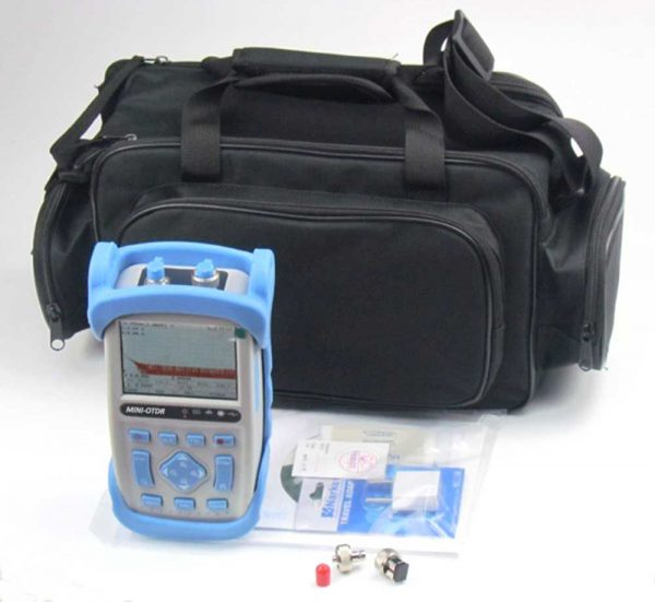 1310/1550nm Fiber Optic OTDR Reflectometer 28/26dB (32/30dB, 37/35dB)
