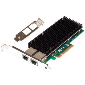 10G/1G Server Network Adapter 2x RJ45 (Intel X540)