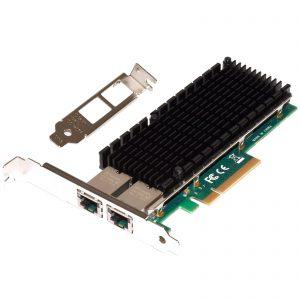 10G/1G Server Network Adapter 2x RJ45 (IntelX540)